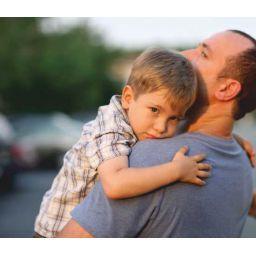 Papá se va de casa. La separación del lado masculino