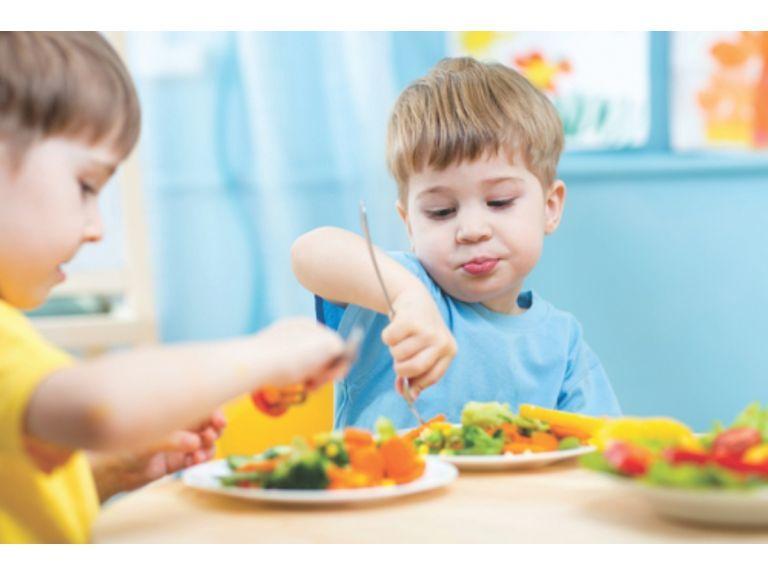 Ser mamá de dos. Y comer casero y saludable