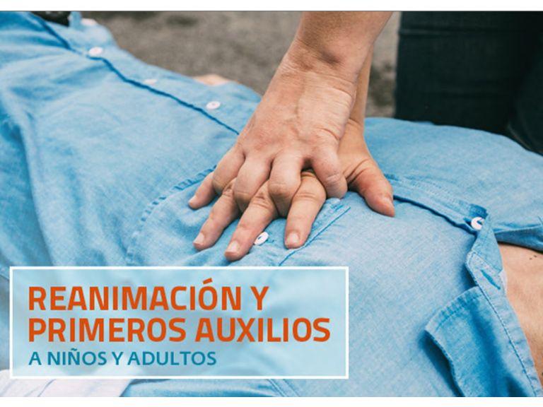 Reanimación y  Primeros auxilios a niños y adultos